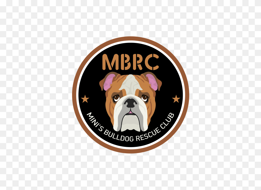 Mini's Bulldog Rescue Club - Bulldog PNG