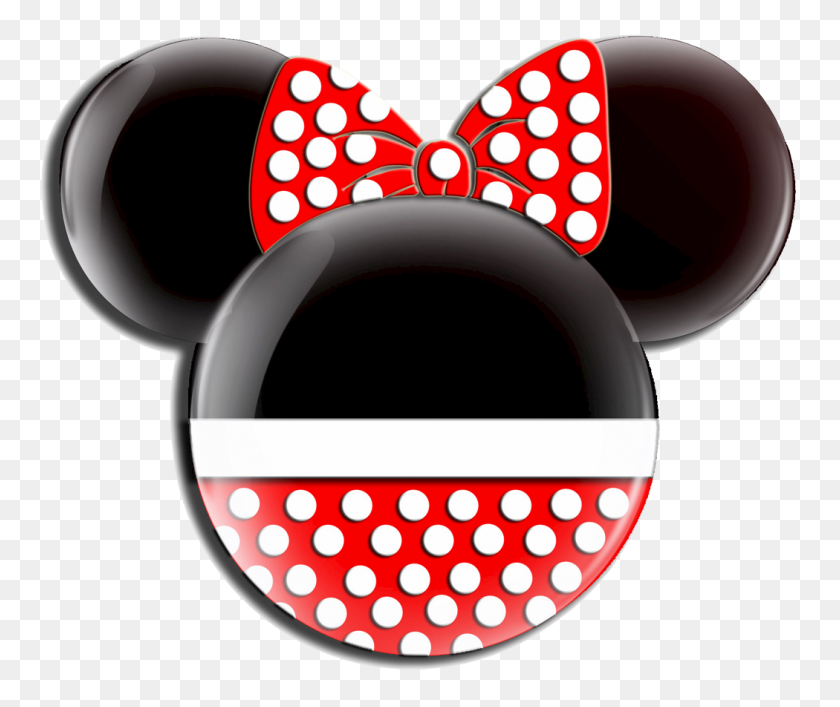 Minnie Mouse Birthday Clip Art - Minnie Head PNG
