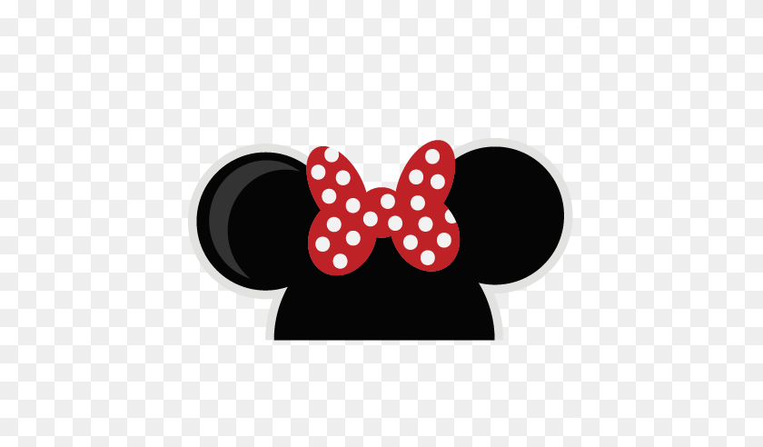 Minnie Mouse Head Transparent, Best Minnie Mouse Head - Minnie Ears Clipart
