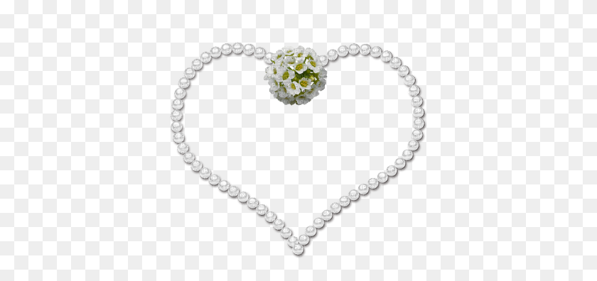 Minou Heart Pearls, Minou Heart Pearls - Pearls PNG
