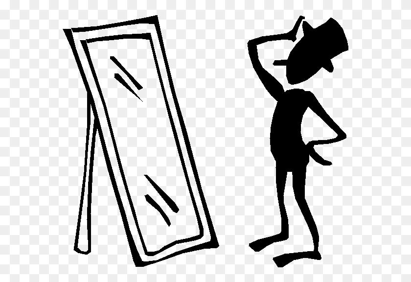 Mirror Clipart Anorexia - Nile River Clipart