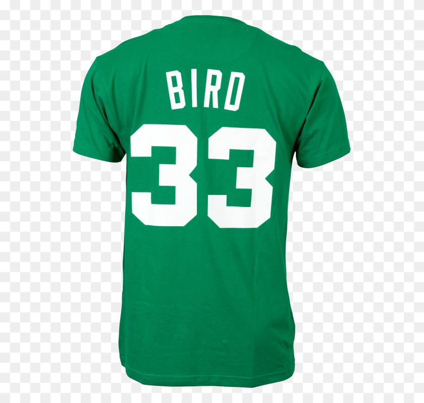 Mitchell Ness Boston Celtics Hardwood Classics Larry Bird - Boston Celtics Logo PNG