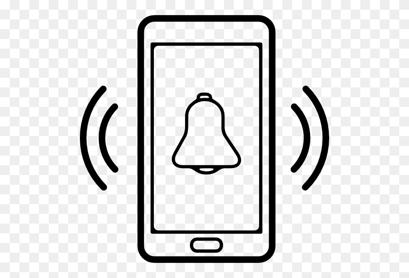 Mobile Phone, Phones, Ring, Phone Set, Interface, Bell, Cellphone - Phone Ringing Clipart