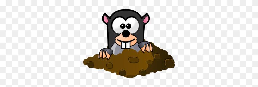 Mole Clip Art Chemistry - Mole Clipart
