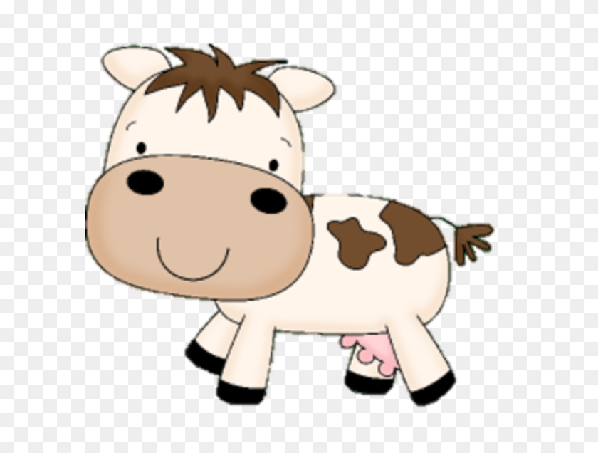 Mommy Clipart Baby Cow - Cow Print Clipart