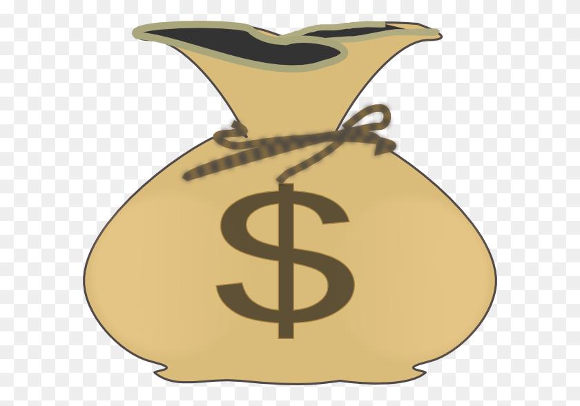 600x528 Money Bag Clip Art - Sack Clipart
