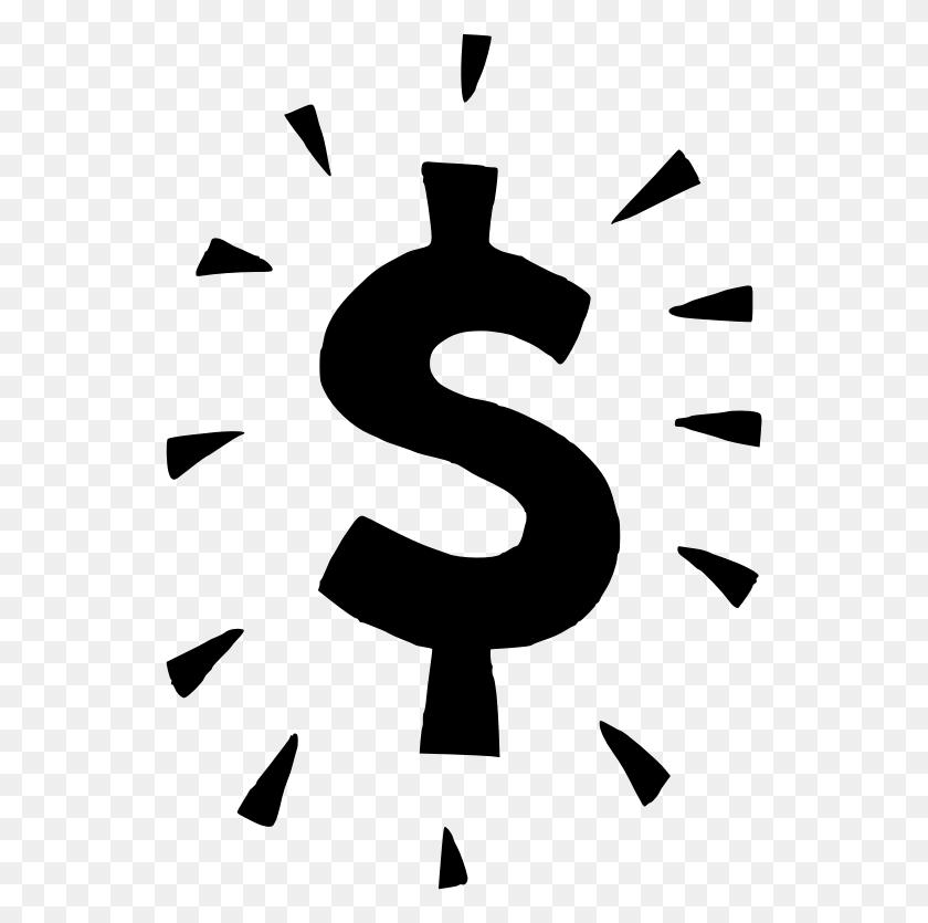 Money Sign Clipart - Money Border Clipart
