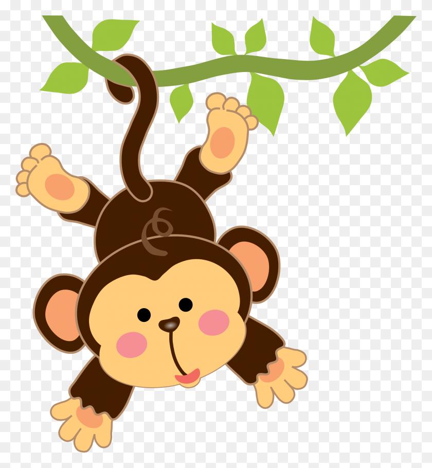 Monkey Clipart Jungle Animal - Jungle Animals Clipart