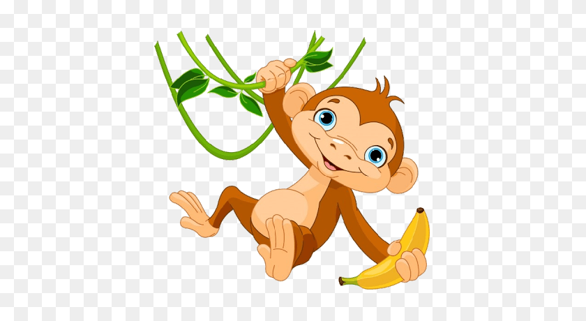 Monkey Pumpkin Cliparts - Baby Pumpkin Clipart