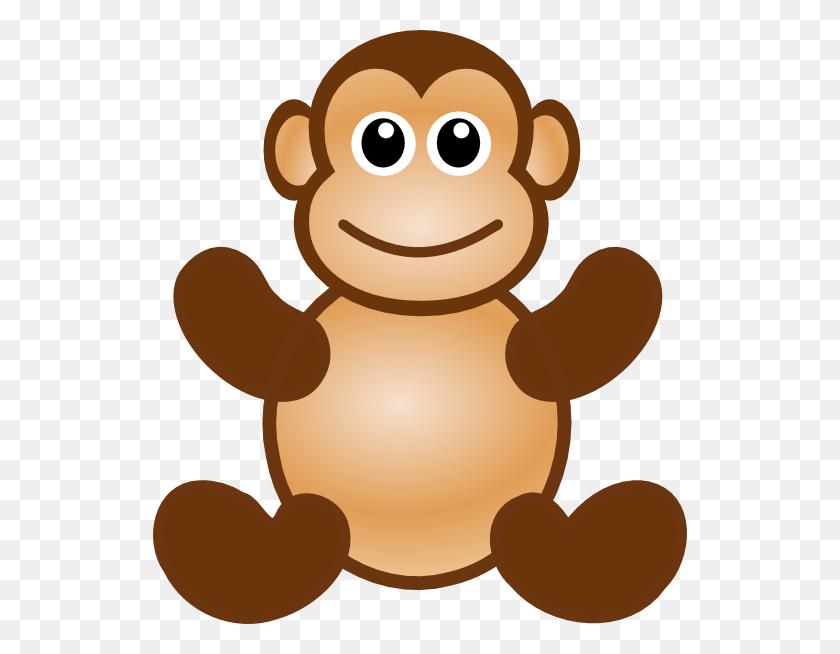 Monkey Toy Clip Art - Monkey Clipart Images
