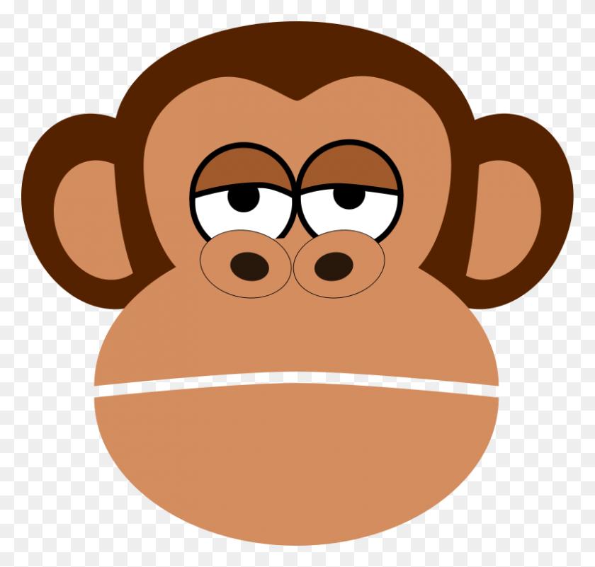 Mono Monkey Clipart Free Monkey Yummy Monkey - Mono Clipart