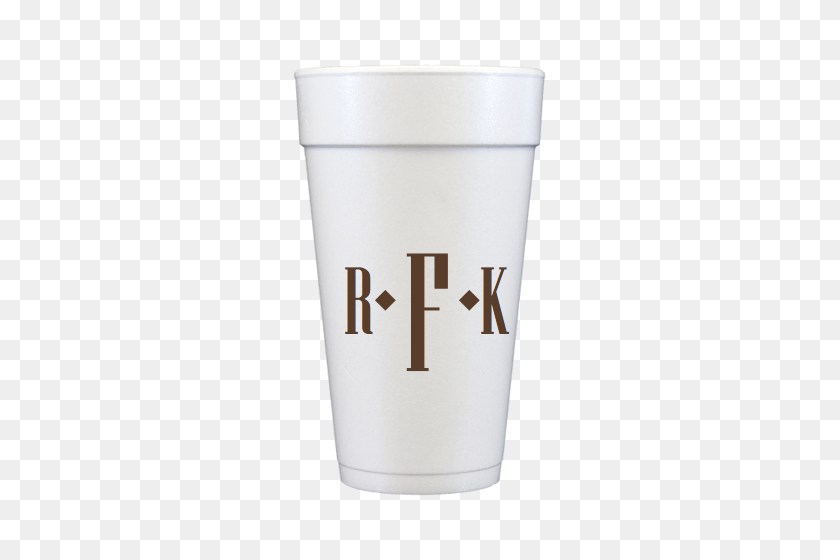 Monogrammed Styrofoam Cups Personalized And Monogrammed Cups - Styrofoam Cup PNG