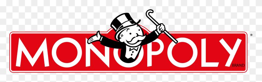 2542x668 Monopoly Logo - Monopoly PNG