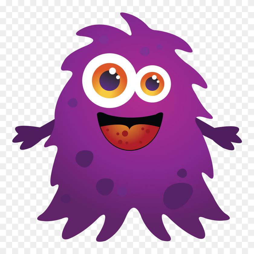 2400x2400 Monster Clipart For Kids Goofy Monster Clip Art Image - Monster Mouth Clipart
