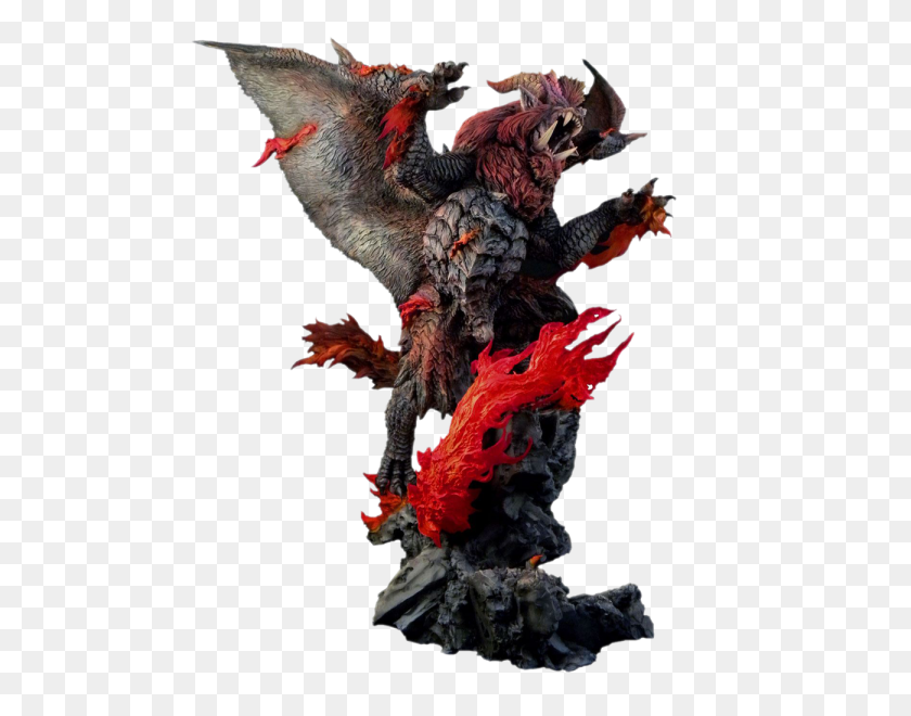 600x600 Monster Hunter Statue - Monster Hunter PNG