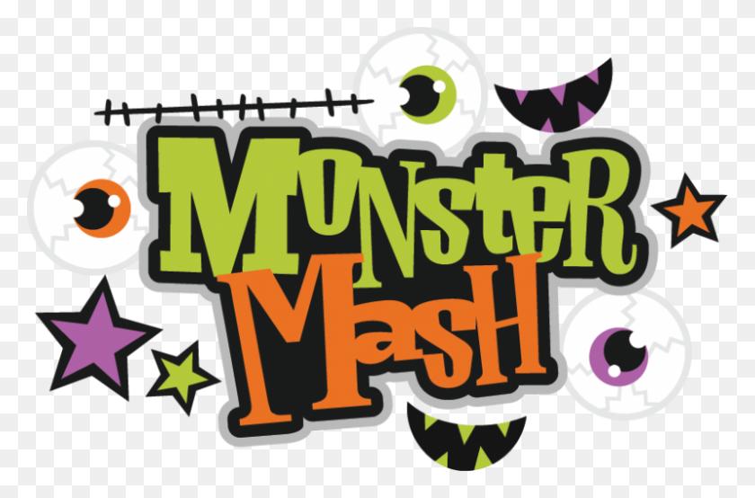 800x507 Monster Mash - Monster Feet Clipart