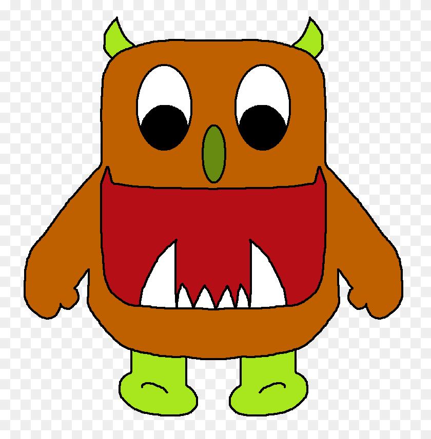 757x797 Monster Mouth Clip Art - Monster Mouths Clipart