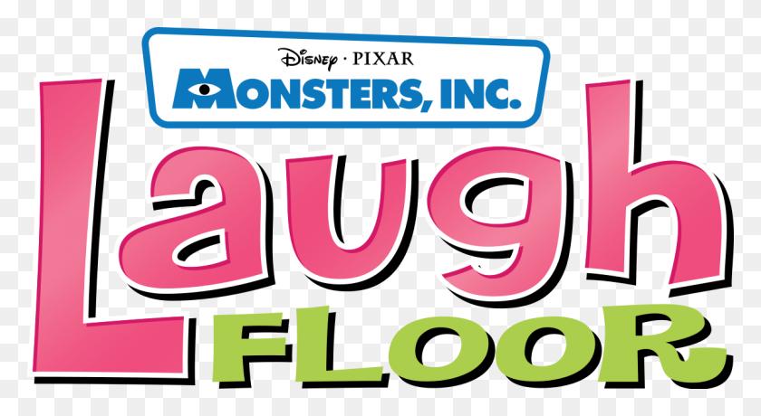 1200x616 Monsters, Inc Laugh Floor - Monster Inc PNG
