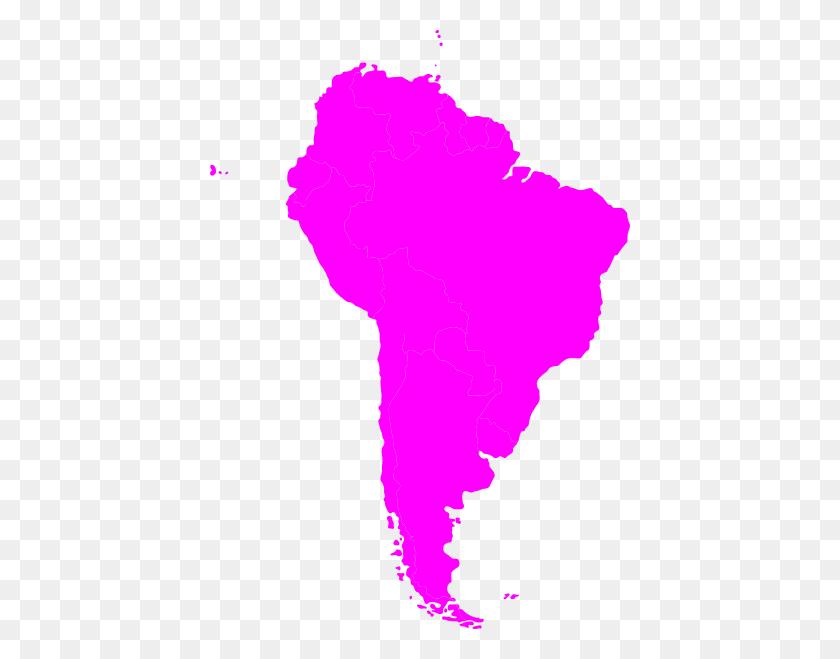 420x599 Montessori South America Continent Map Clip Art - Montessori Clipart