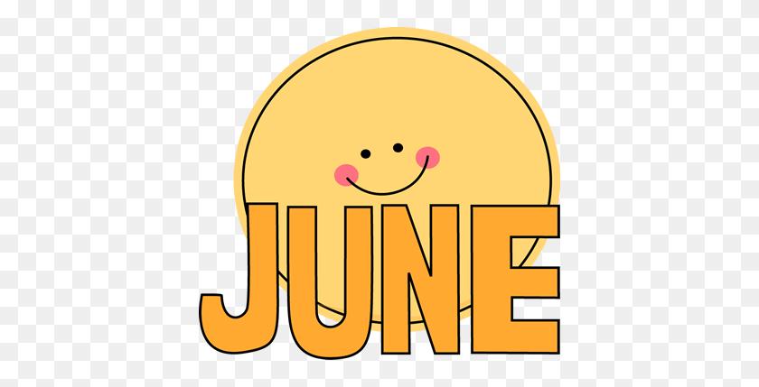 Month Of June Sun Clip Art Image Clipart - Yellow Sun Clipart