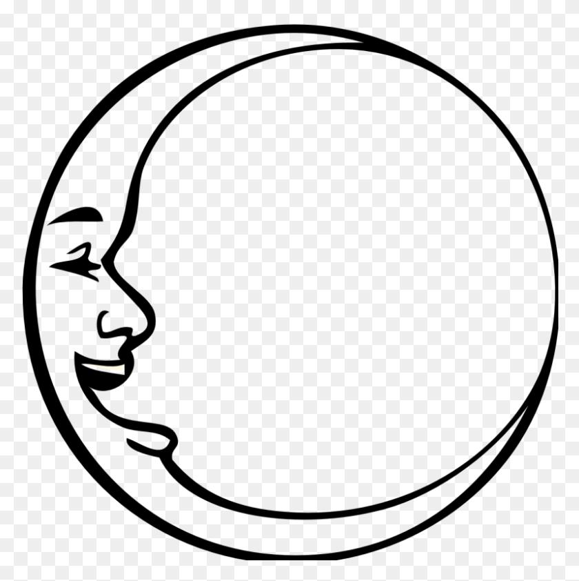 Moon Clipart Clip Art - Pug Clipart