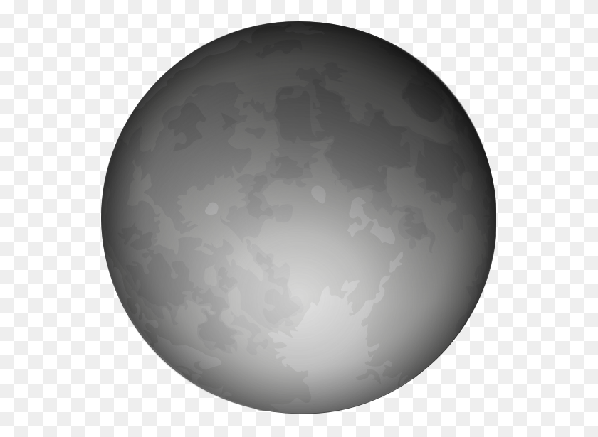 555x555 Moon Clipart Free - Moon Clipart PNG