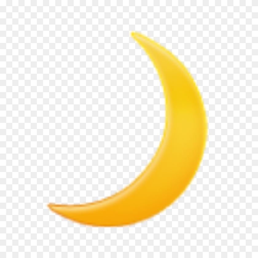 919x919 Moon Emoji Exo Kpop Tumblr Night - Moon Emoji PNG