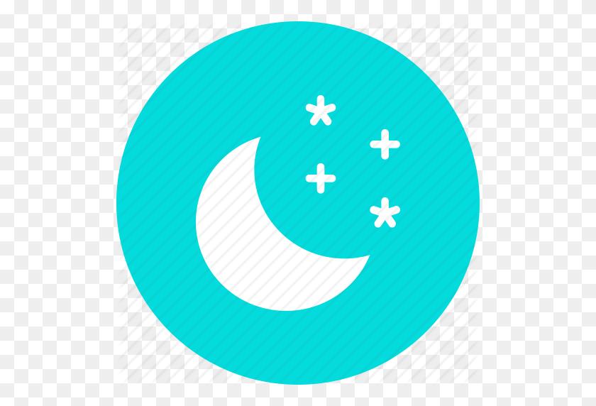 Moon, Night, Sky, Star, Stars Icon - Night Sky PNG