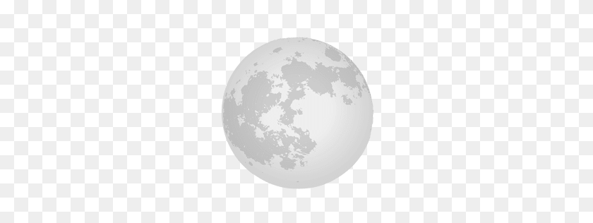 256x256 Moon Waning Crescent Icon - Moonlight PNG