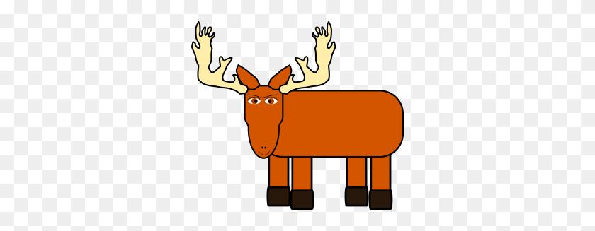 Moose Clipart Moose Clipart - Cute Moose Clipart