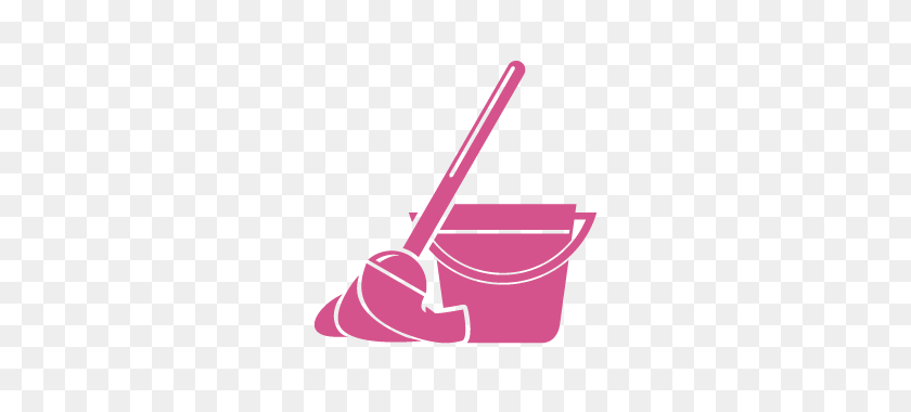 320x320 Mop And Bucket - Mop PNG