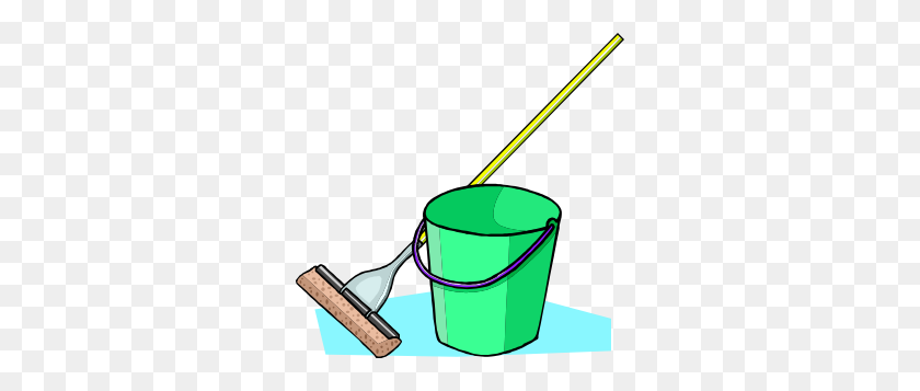 Mop And Bucket Clip Art - Mop And Bucket Clipart