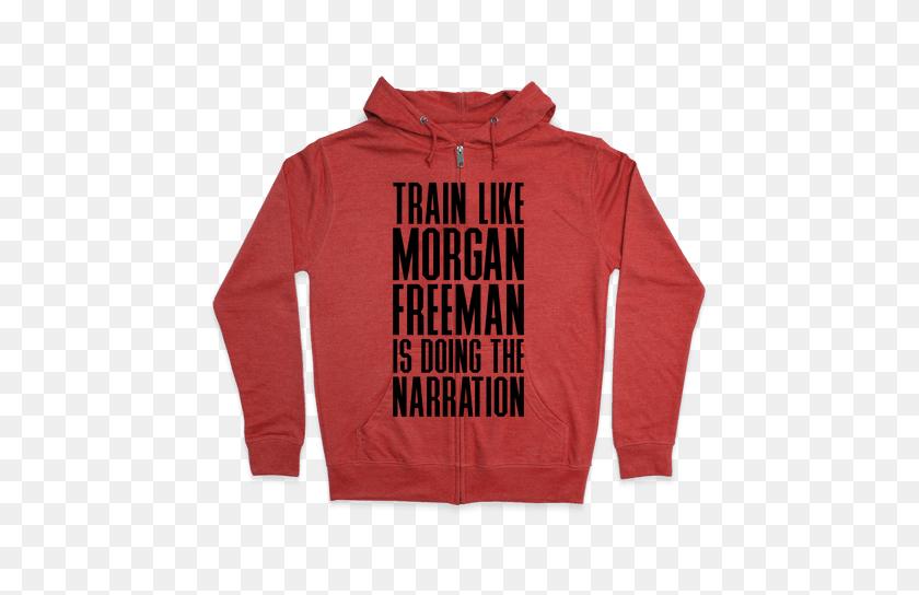 484x484 Morgan Freeman Hooded Sweatshirts Lookhuman - Morgan Freeman PNG