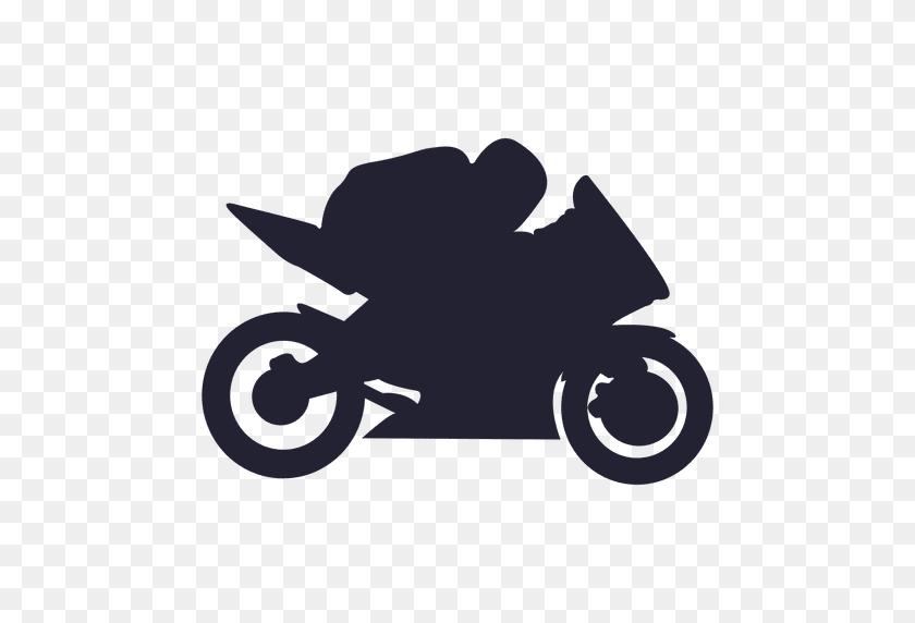 Motocross Racing Sport Silhouette - Racing PNG
