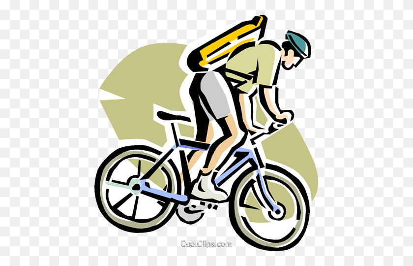 Mountain Bike Riding Clipart Clip Art Images - Riding Bicycle Clipart