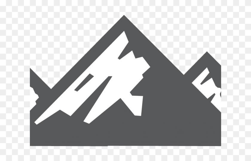 Mountain Clipart - Snowy Mountain Clipart