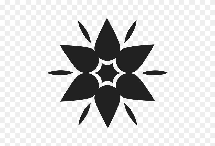 512x512 Mountain Flower Icon - Mountain Outline PNG