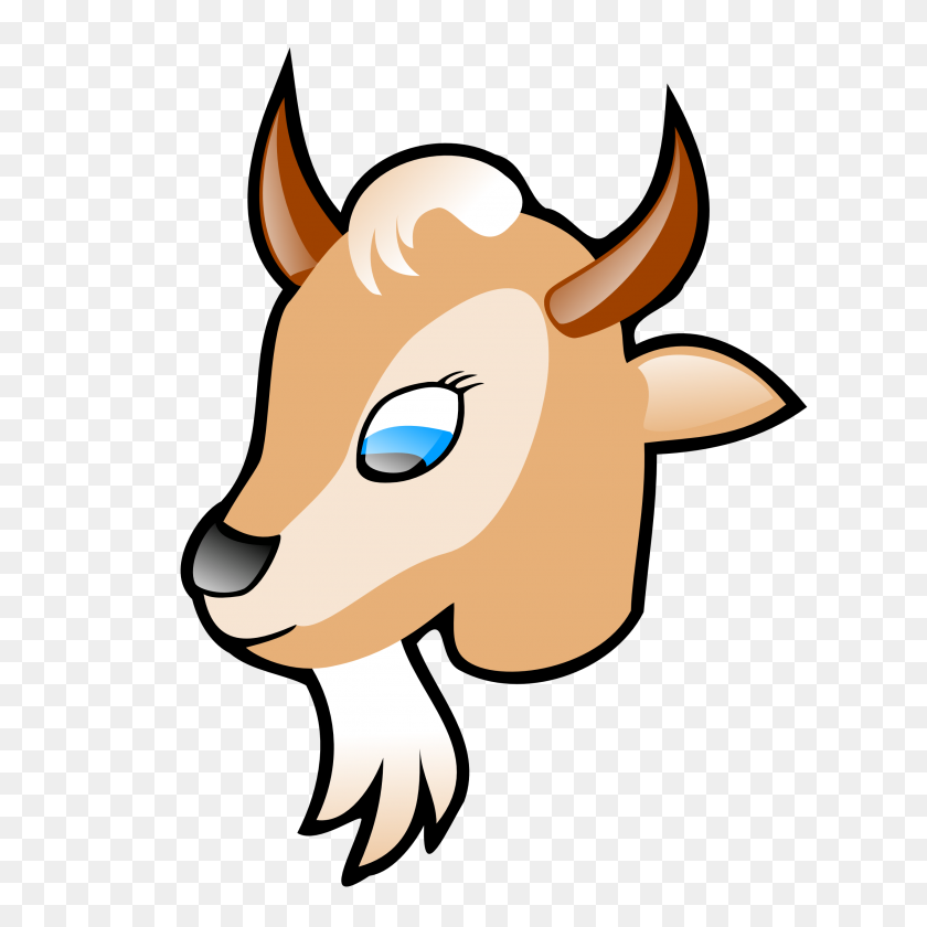 Mountain Goat Clipart Kid Goat - Mountains Clipart PNG