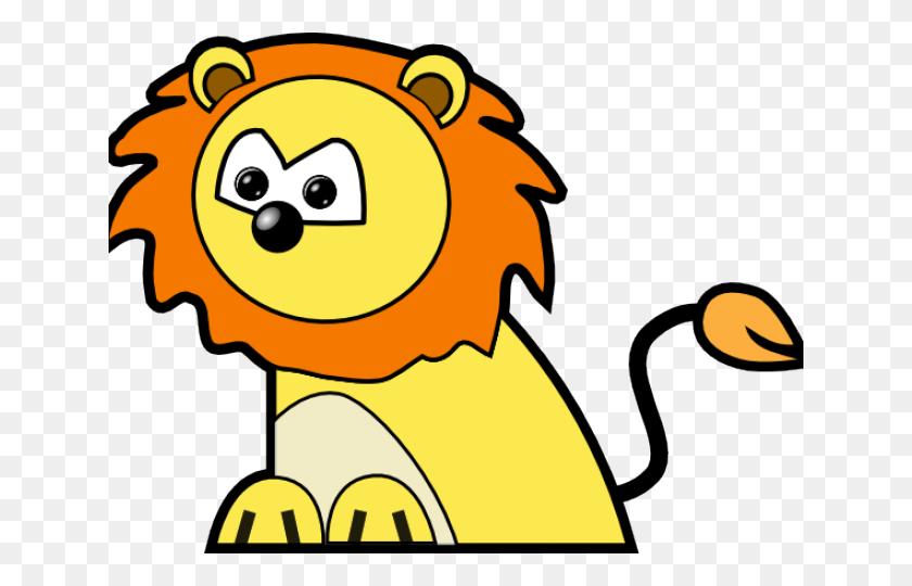 Mountain Lion Clipart Wild Lion - Baby Lion Clipart