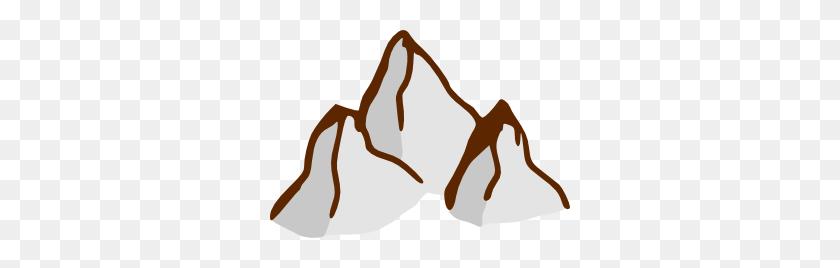 300x208 Mountain Range Clip Art - Mountain Man Clipart