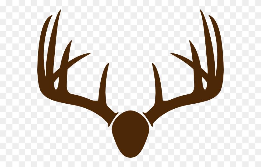 Mounted Deer Head Clipart - Reindeer Head Clipart