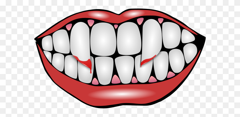 Mouth And Teeth Png Clip Arts For Web - Vampire Fangs Clipart