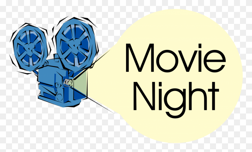 Movie At Church Clip Art - Movie Night Clipart