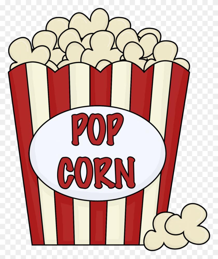 Movie Night Clip Art Scrapbook Popcorn, Clip Art, Art - Snack Bar Clipart