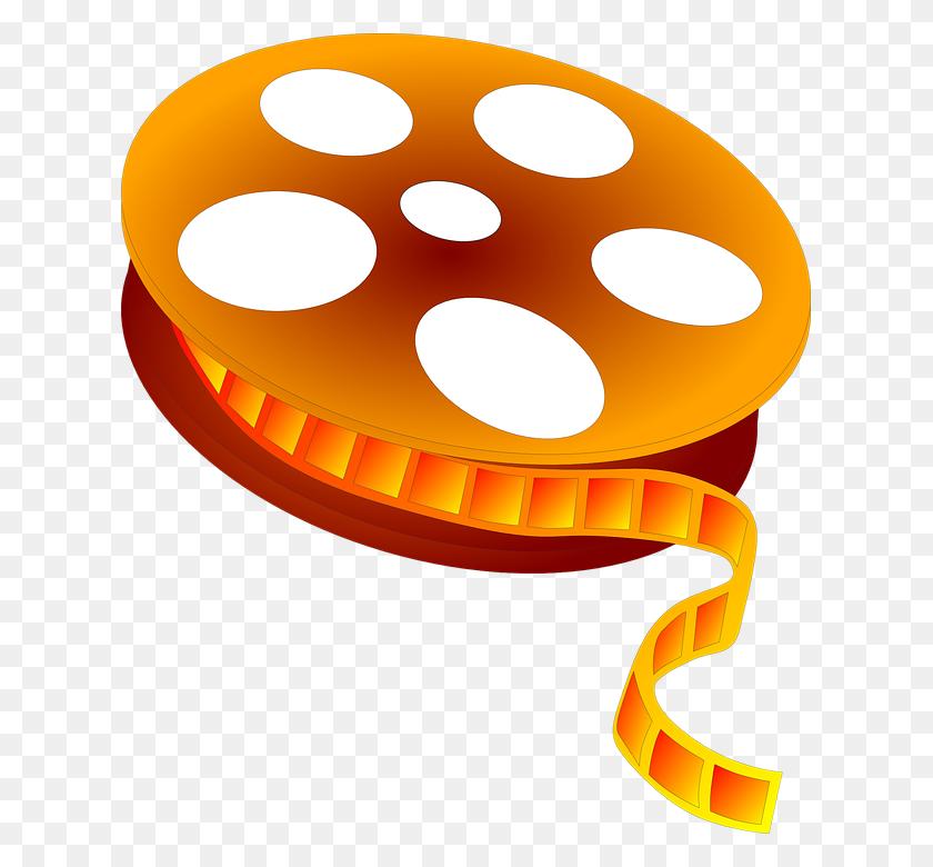 Movie Reel Free Vector Graphic Movie Film Reel Cinema Video Image - Reel Clipart