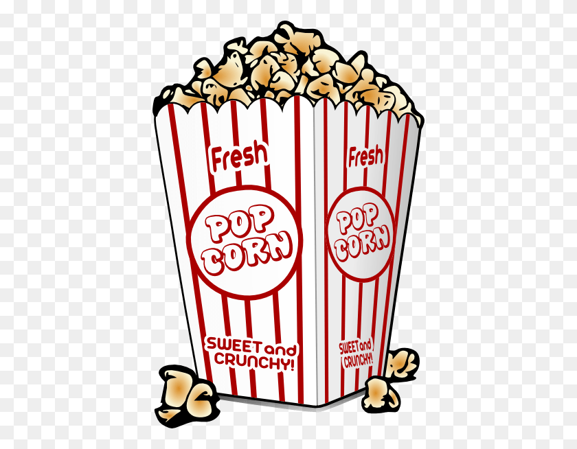 Movie Snacks Cliparts - Snack Bar Clipart