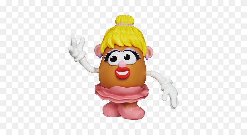 Mrs Ballerina Mr Potatohead Collection Potatoes - Mr Potato Head PNG