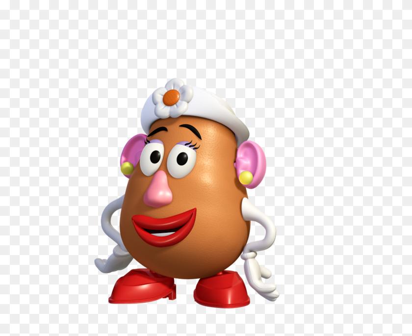 564x625 Mrs Potato Head Mr Potato Head In Toys, Toy - Mr Potato Head PNG