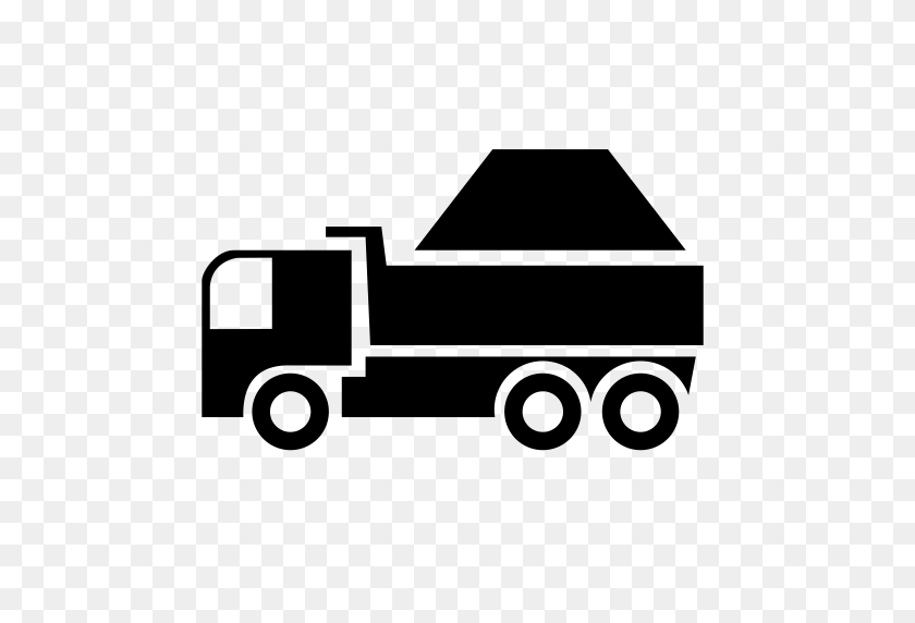 Muck Truck Icon With Png And Vector Format For Free Unlimited - Truck Icon PNG