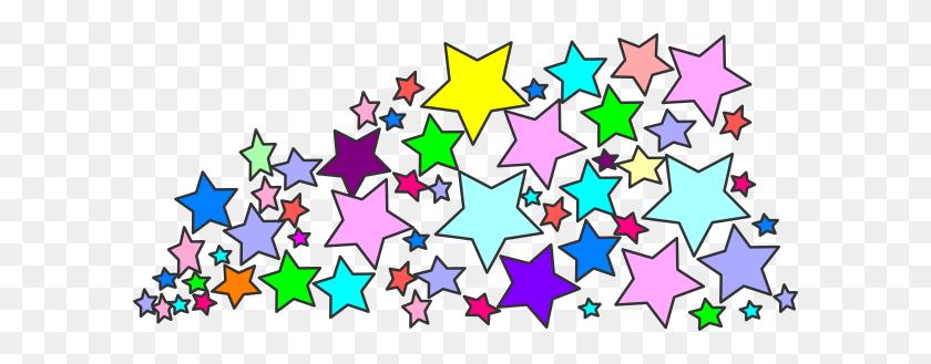 600x269 Multi Stars Nani Clip Art - Nani PNG